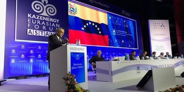 Del Pino planteó acciones para estabilizar precios del crudo