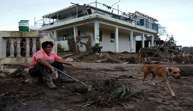 16 muertos en P.Rico por paso de María