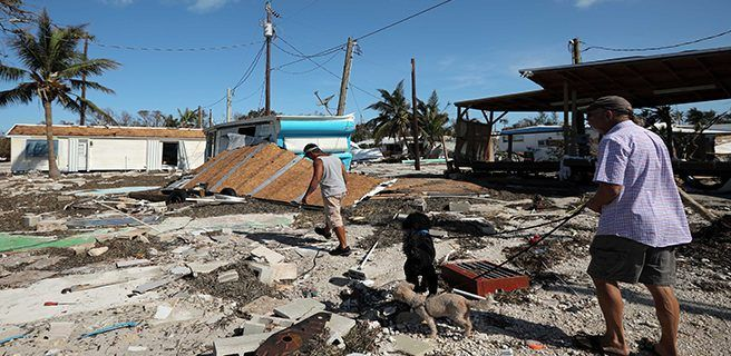 Irma destruyó el 25 % de los edificios de los Cayos de Florida