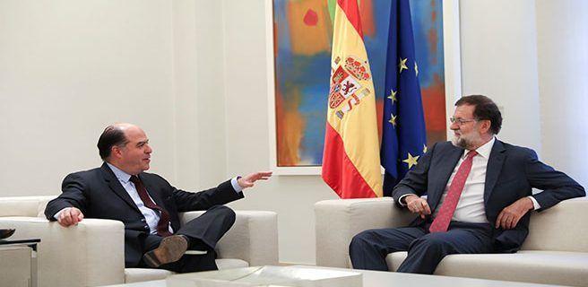 Venezuela acusa a Rajoy de agredir su dignidad y de apoyar crímenes de la oposición