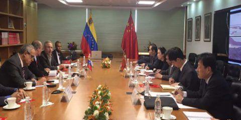 Pdvsa y estatal china mantienen inversión conjunta por 10 mil millones de dólares