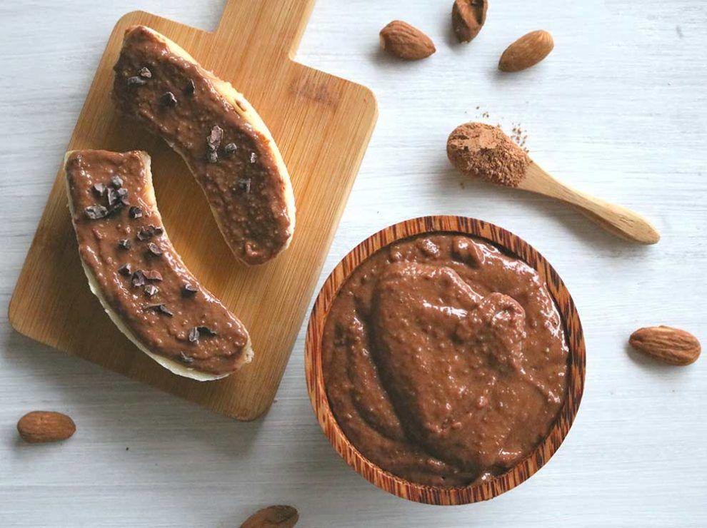 Las almendras son una opción sana para cremas de desayuno muy nutritivas