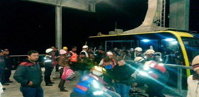 Garantizan funcionamiento de teleférico ante corte eléctrico en Mérida
