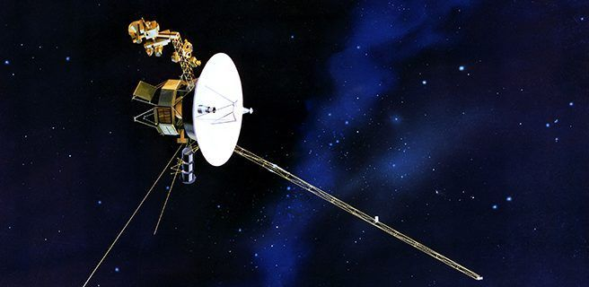 La NASA manda un tuit a las sondas Voyager por su 40 aniversario