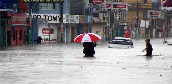 Alerta roja en Guatemala por lluvias