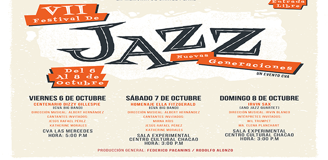 Inicia VII edición del Festival de Jazz de Nuevas Generaciones