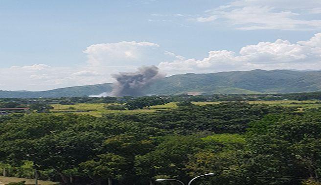 Explosión en Cavim alerta a los habitantes
