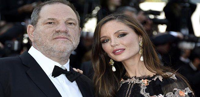 Esposa de Weinstein decide separarse por escándalo sexual en el que se ve involucrado el productor