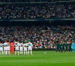 Emotivo minuto de silencio en el Bernabéu por las víctimas de los incendios