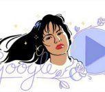 "Google homenajea a Selena Quintanilla con un ""Doodle"""