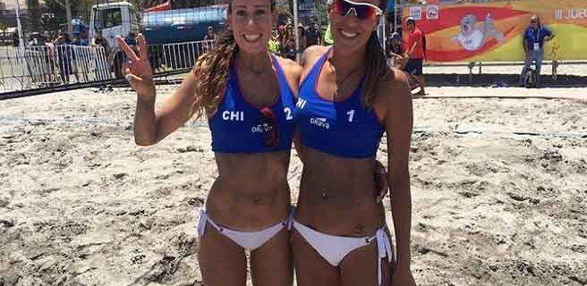 Venezolanas en cuartos de final en voleibol de playa de Suramericanos de la Juventud