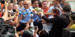 Ismael García votó en el liceo Libertador