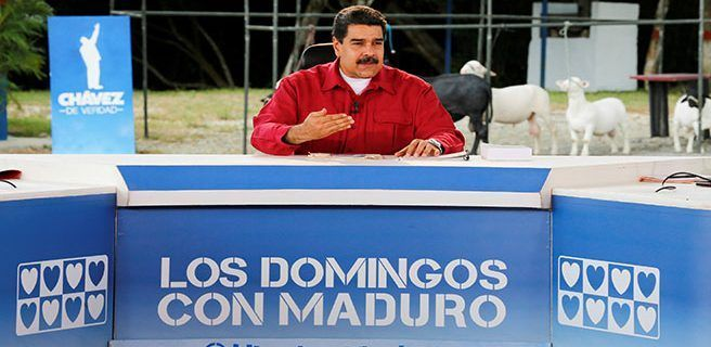 Maduro anuncia fin del rentismo