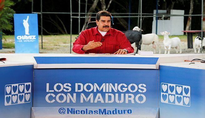 Maduro niega que financiaron a Podemos