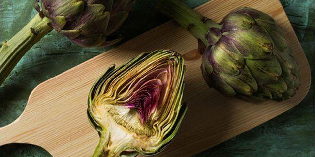 Alcachofa: Minerales, vitaminas y fibra