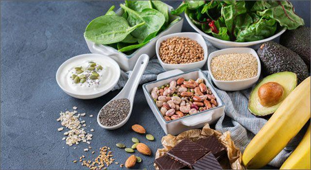 El magnesio se encuentra en una inmensa variedad de alimentos