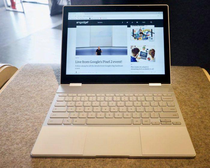 La nueva Pixelbook de Google tiene procesadores Intel i8 Skylake de ultima generacion