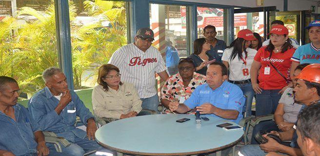 Rodolfo Marco Torres se reunió con trabajadores de UNICON