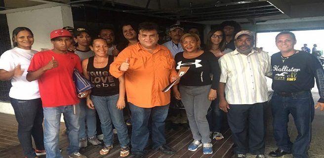 Aragua Unidad inscribió sus candidatos en los 18 municipios