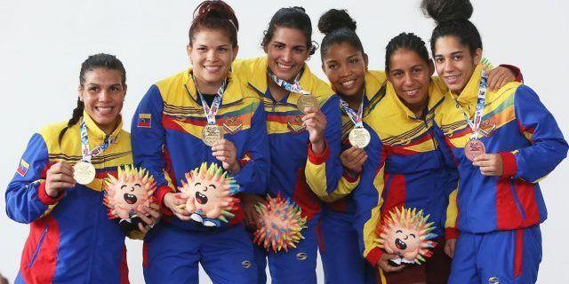 Venezuela cerró segunda jornada de Juegos Bolivarianos con 37 medallas