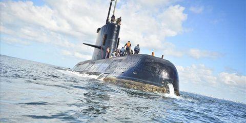 La Armada argentina investiga ruidos detectados en zona de búsqueda del submarino desaparecido