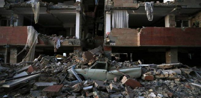 Aumentan a 530 los fallecidos por terremoto en frontera entre Irak e Irán