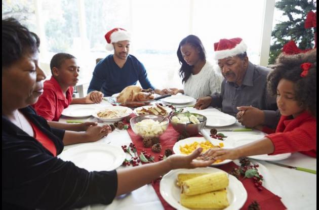 En navidad es importante el buen comer y no excederse