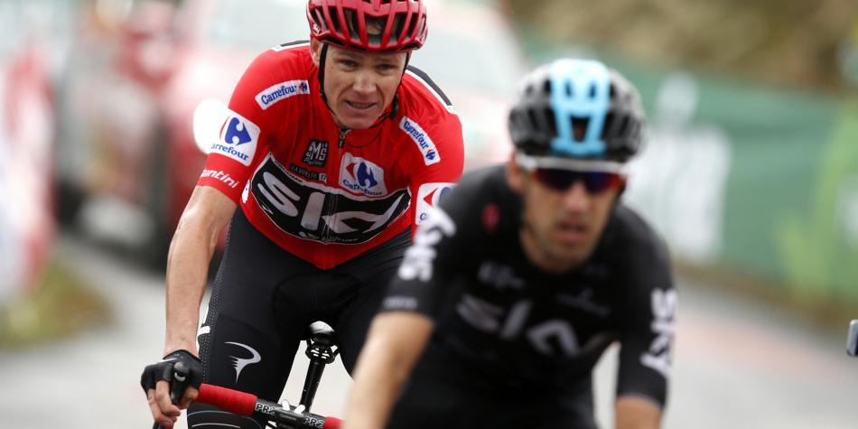 Chris Froome dió positivo por salbutamol en la Vuelta a España