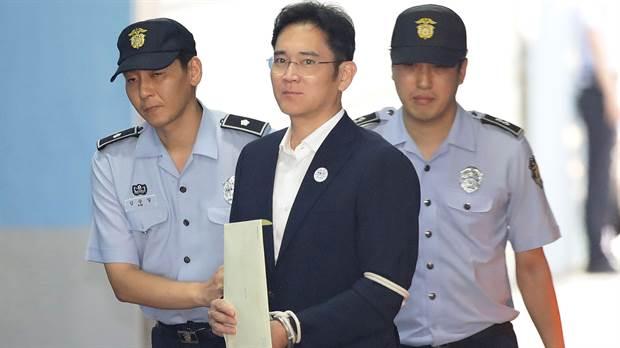 El heredero de Samsung le exigen enfrentar una pena de 12 años