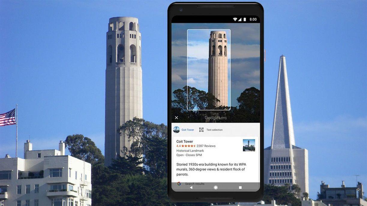 Google Lens te permite reconocer un lugar de manera instantánea en cualquier parte del mundo